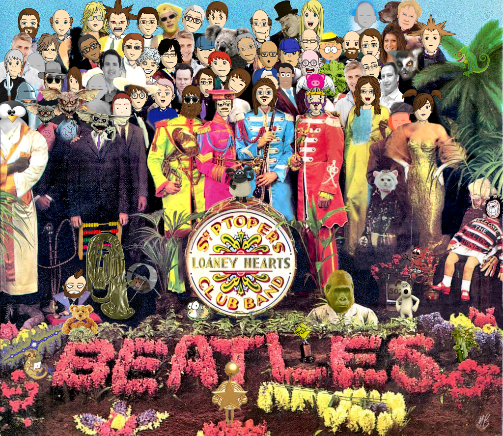 P2P Lonely Hearts Club Band Picture